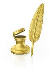 gold leaf pen