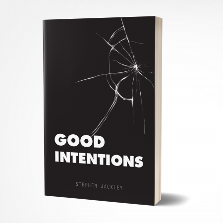 Good Intentions 3D Book 8 x 5 Mockup 'Good Intentions' by Stephen Jackley