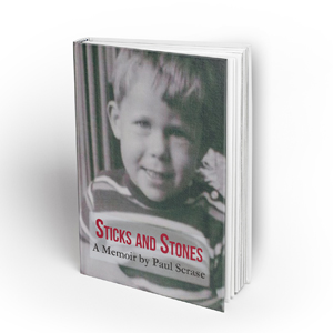 Hardcover Book MockUp STICKS AND STONE 'Sticks and Stones' by Paul Scrase