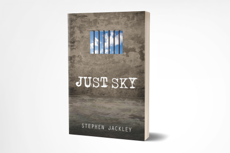 Just Sky New Cover 3D Book 8 x 5 Mockup 'Just Sky' by Stephen Jackley
