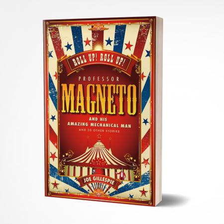 professor magneto 3D 'Professor Magneto' by Joe Gillespie