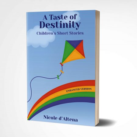 3D book 'A Taste of Destinity Children's Short Stories' by Nicole D'Altena