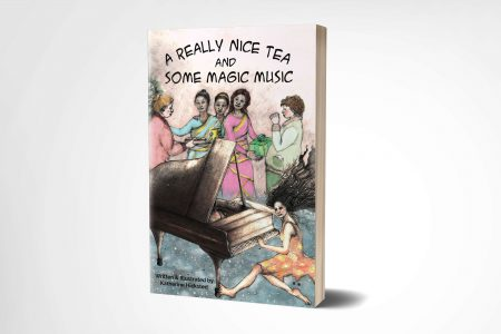 3D cover 'A Really Nice Tea and Some Magic Music' by Katherine Hicksted