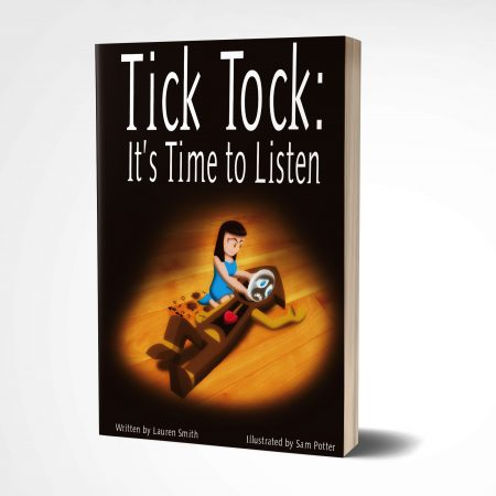 Tick Tock Its Time to Listen 3d mock Tick Tock: It's Time to Listen