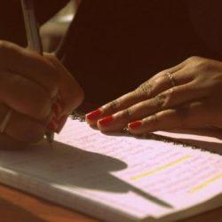black-writer-girl